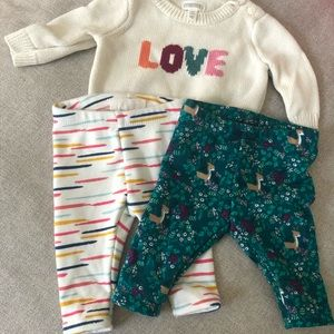 0-3 month Gymboree baby clothes
